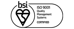 BSI ISO 9001 Acred